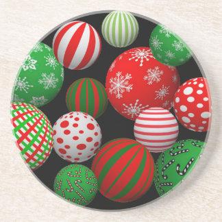 Julbollar för anpassade 3D Underlägg Sandsten