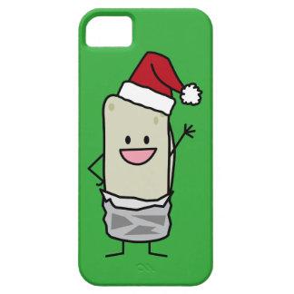 JulBurrito som vinkar helgdag för hejSanta hatt iPhone 5 Case-Mate Skydd