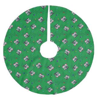 JulCesky Terriers Julgransmatta Borstad Polyester