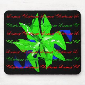 Juldrömmar i ljust - grön julstjärna