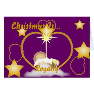 Julen är royalty! - Skräddarsy Hälsningskort
