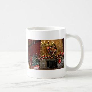 Julen avfyrar ställeplats kaffemugg