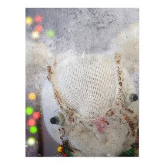 Julen Julhälsningar kortet med Aldo en kanin Vykort