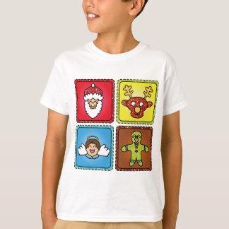 Julen personifierade utslagsplatsskjortan tröja