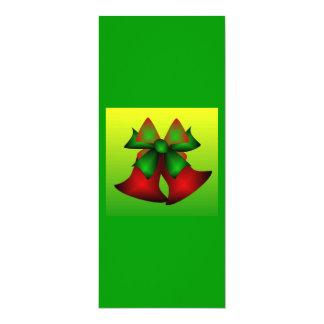 Julen sätta en klocka på I 10,2 X 23,5 Cm Inbjudningskort