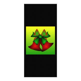 Julen sätta en klocka på I Personliga Rack Kort