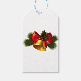 Julen sätta en klocka på presentetikett