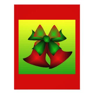 Julen sätta en klocka på reklamblad III Flygblad Designs