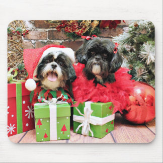 Julen - Shih Tzu - Riley och rufsar Musmatta