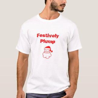 Julen slänger Festively T-tröja T-shirt