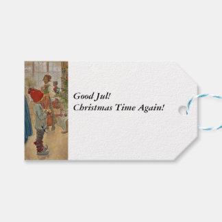 Julen tajmar igen Julaftonen Presentetikett
