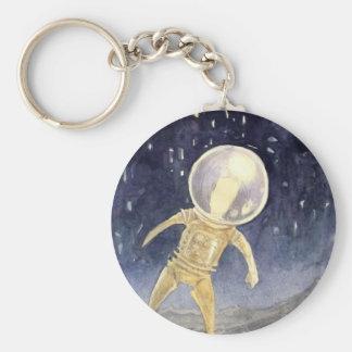 Jules Verne utforskarenyckelring Rund Nyckelring