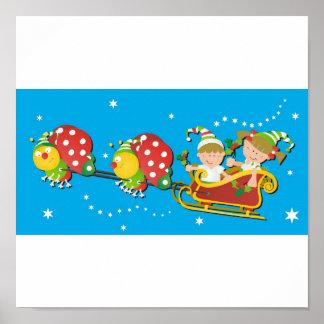 JulfjärilsSleigh Poster