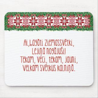 Julfolklåt II Latviešu Tautasdziesma Mus Mattor