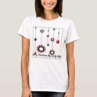 Julgåva för kvinnor t-shirt