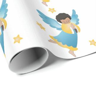 Julgåvasjal/änglar Presentpapper
