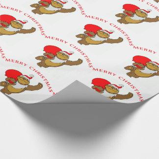 Julgåvasjal/björn Presentpapper