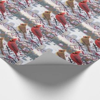 Julgåvasjal/kardinaler Presentpapper