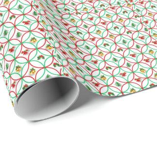 Julgåvasjal/mönster Presentpapper