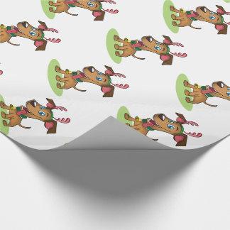 Julgåvasjal/renhund Presentpapper