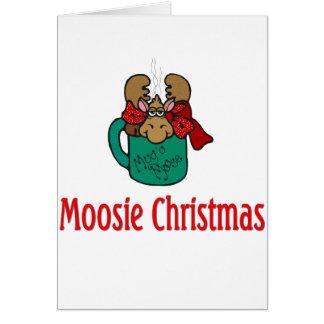 Julgåvor och T-tröja med julälg Hälsningskort