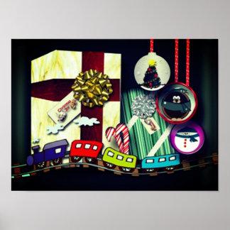 Julglädje Poster