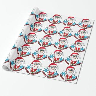 Julglädje santa presentpapper
