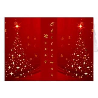 - Julgran för spegel TBA Hälsningskort