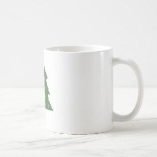 Julgran med stjärnor kaffemugg