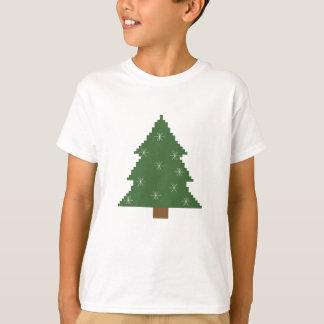 Julgran med stjärnor tröja