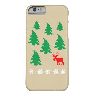 Julgran ren, snowflake barely there iPhone 6 skal