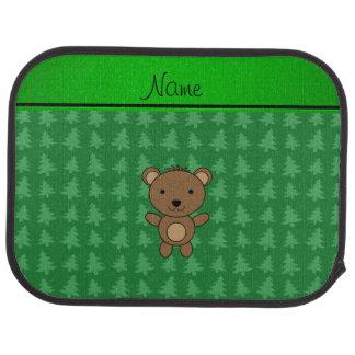 Julgranar för grönt för personlignamnbjörn bilmatta