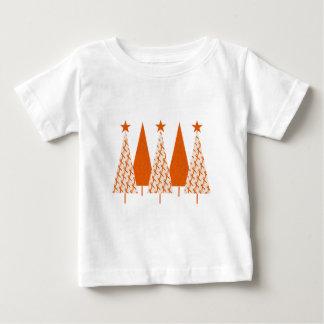 Julgranar - orange band tröjor