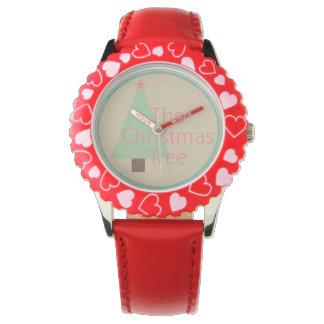 Julgranen Armbandsur