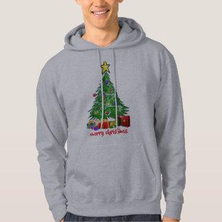Julgrangod julmanar design för hoodie