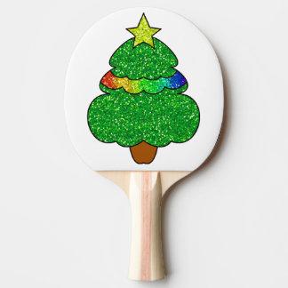 Julgranpingen Pong paddlar Pingisracket