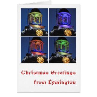 Julhälsningar från Lymington Hälsningskort