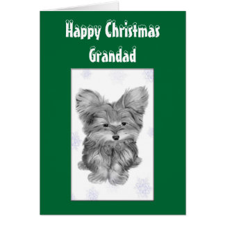 Julhälsningkort för mormor & Grandad Hälsningskort