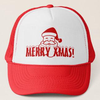 Julhatt med jultomtenordstävgod jul! keps