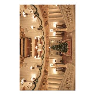 Julhelgdag på Pennsylvania den statliga Brevpapper