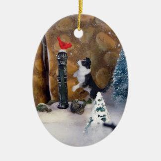 Julhemligheter Julgransprydnad Keramik