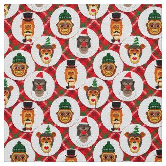 julhipsteren härmar julaftontyg tyg