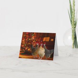 Julhönor Kort