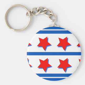 Juli 4th Keychain firandedesign Rund Nyckelring