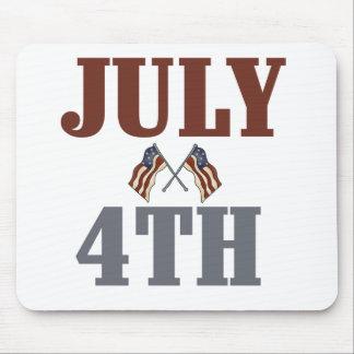 Juli 4th Tshirts och gåvor Musmatta
