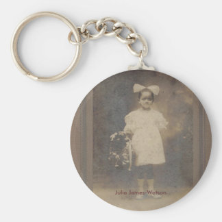 Julia James-Watson Rund Nyckelring