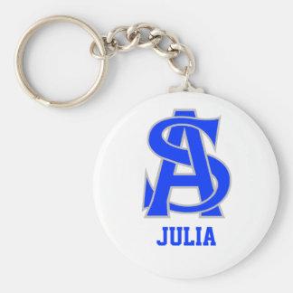 Julia Rund Nyckelring