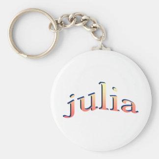 Julias Rund Nyckelring