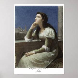 Juliet på Het Calderon för balkong CC0150 Philip Poster