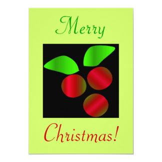 Juljärnekdropp 12,7 X 17,8 Cm Inbjudningskort
